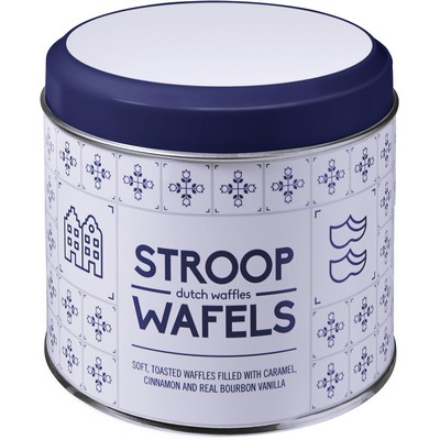 Picture of Can with Dutch pattern, for Dutch waffles