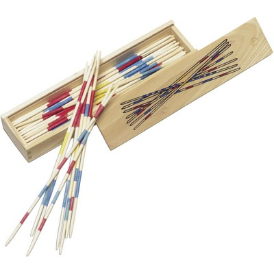 Picture of Mikado game in wooden box