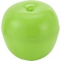 Plastic storage box for an apple.