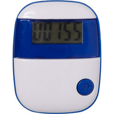 Picture of Plastic pedometer with a step counter.
