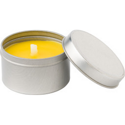Picture of Citronella candle in tin container