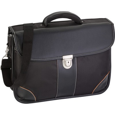 Picture of Polyester 1680D laptop bag with a PU lid