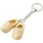 Steel key ring with a set wooden Dutch shoes