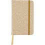 PU covered note book with cork print (A6)