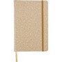 PU covered note book with cork print (A5)