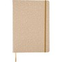 PU covered note book with cork print (A4)