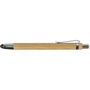 Bamboo ballpen with rubber tip