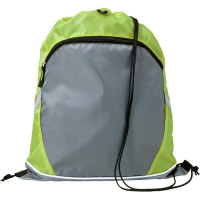 Picture of Polyester (210D) drawstring backpack