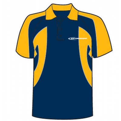 Picture of Short sleeve polo shirt contrast side