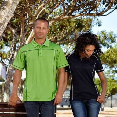 Picture of Men's Ultra Piping Polyester Polo