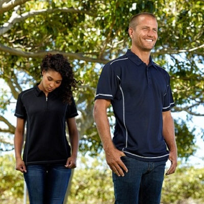 Picture of Men's Vibe Coverstitch Polo