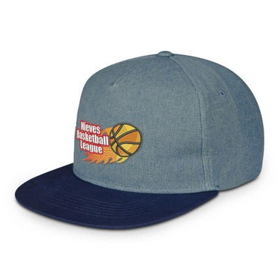 Picture of Shades Of Blue Denim Cap