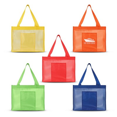 Picture of Sheer Striped Tote Bag
