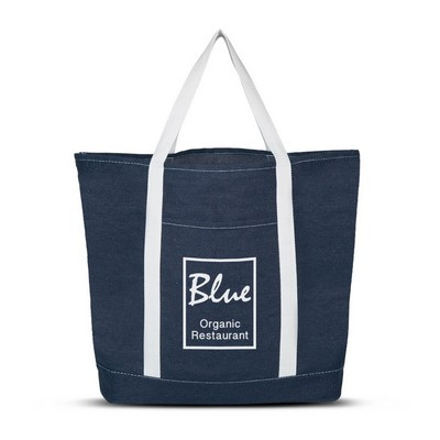 Picture of Denim Shopping Tote Bag