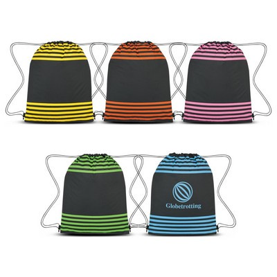 Picture of Striped Drawstring Sports Pack