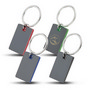 Colour Block Mirrored Key Tag