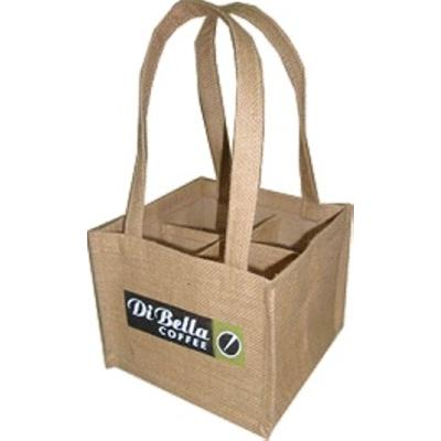Picture of Jute Coffee Carrier - 4 Cup