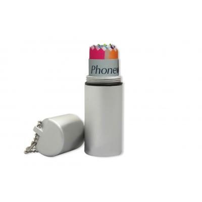 Picture of Phonewipe in Aluminium Tube with KeychainPhonewipe
