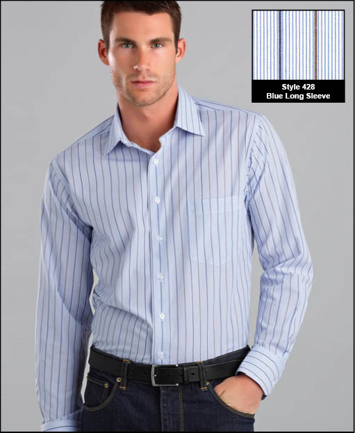 Picture of Two Tone Stripe Shirt