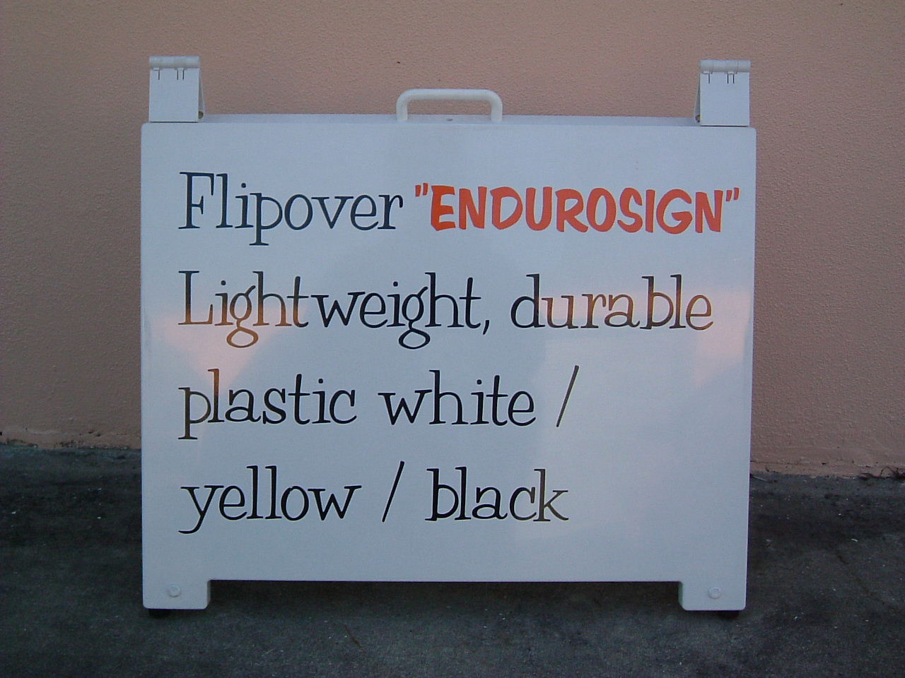 Picture of Endurosign flipover A-Frame