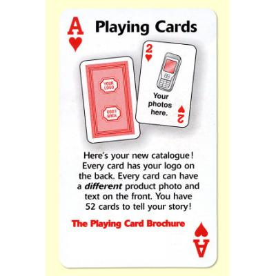 Picture of Playing Card Brochure