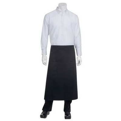 Picture of Black Two Pocket 3/4 Apron