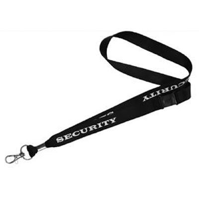"Picture of Lanyard Stock ""Security"""