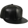 SIX PANEL LEATHER CAP