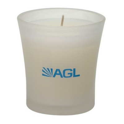 Picture of Marina Large Frosted Flared Candle Holde