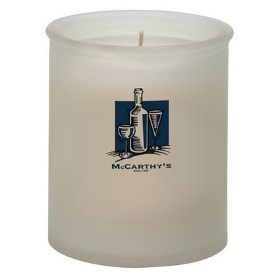 Picture of Marina Frosted Straight Sided Candle Hol