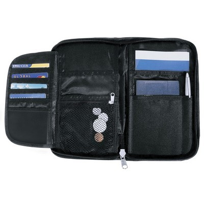 Picture of Terminus Travel Wallet - Black