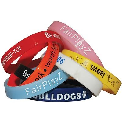 Picture of Embossed (Raised) Wristbands