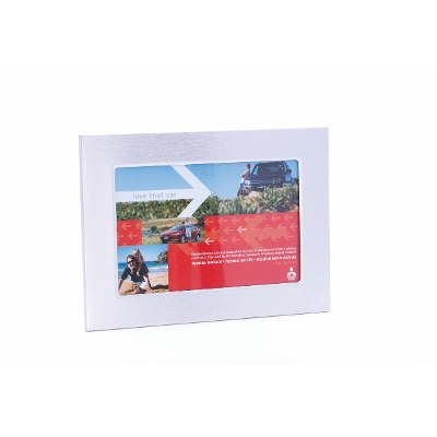 Picture of Brushed Aluminium Desk Photo Frame