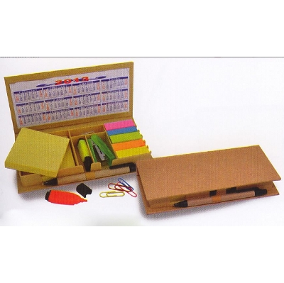 Picture of Eco Post-It Notes Box With Recycled Pape