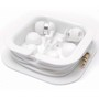 Earbud Set In Conveniant Carry Case