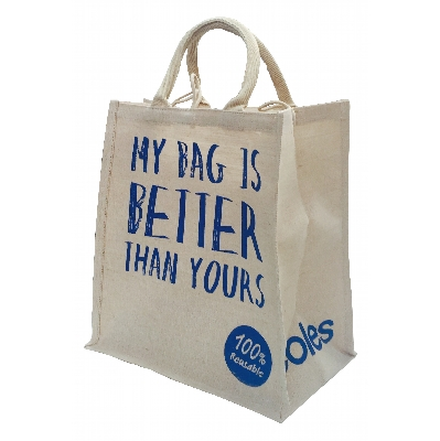Picture of Large Jute Shopping Bag