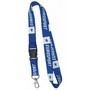 Bamboo Lanyard With Swivel Clip
