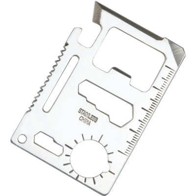 Picture of Multi Tool Metal Keyring 11 Function Sur