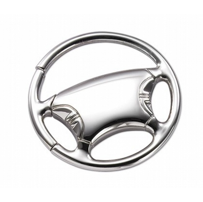Picture of Steering Wheel Metal Keyring