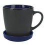 355Ml Two-Tone 2 Piece Coaster Mug