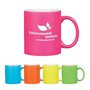 325Ml Neon Mug With C-Handle