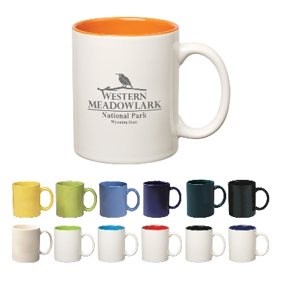 Picture of 325Ml Colored Stoneware Mug With C-HandleDrinkware/Coffee Mugs