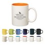 325Ml Colored Stoneware Mug With C-HandleDrinkware/Coffee Mugs
