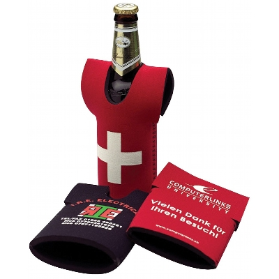 Picture of Neoprene Bottle Cooler T-Shirt Style 3Mm