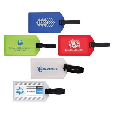 Picture of Business Card Luggage Tag