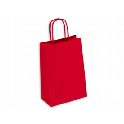 Picture of Kraft Paper Bag Coloured Small Includes