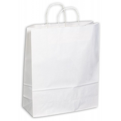 Picture of Kraft Paper Bag White Extra Large Includ