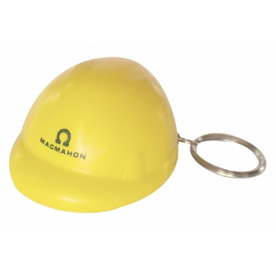 Picture of Hard Hat Stress Shape On Keyring
