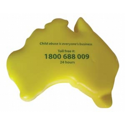 Picture of Australia Stress Shape