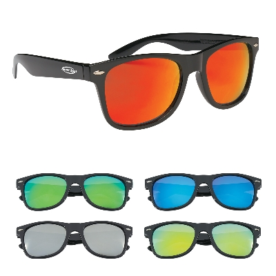 Picture of Colored Mirrored Malibu Sunglasses